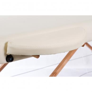 Sulankstomas masažo stalas Classic Oval 3 (Cream) 5