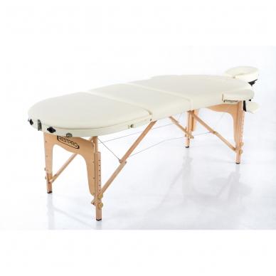 Sulankstomas masažo stalas Classic Oval 3 (Cream) 3