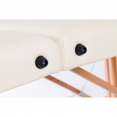 Sulankstomas masažo stalas Restpro Classic Oval 3/Cream 9