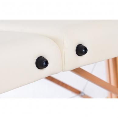 Sulankstomas masažo stalas Classic Oval 3 (Cream) 9
