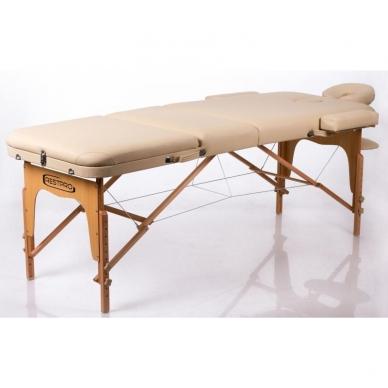 Sulankstomas masažo stalas Memory 3 (Beige) 2