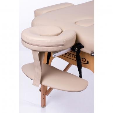 Saliekamais masāžas galds Memory 3 (Beige) 10
