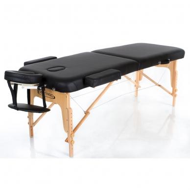 Sulankstomas masažo stalas Vip 2 (Black)