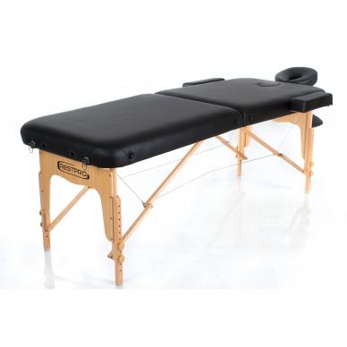 Sulankstomas masažo stalas Vip 2 (Black) 2