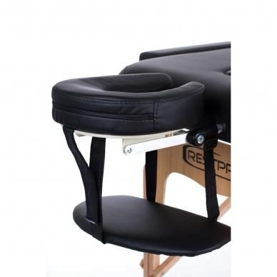 Sulankstomas masažo stalas Vip 2 (Black) 3