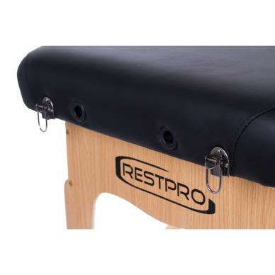 Sulankstomas masažo stalas Vip 2 (Black) 6