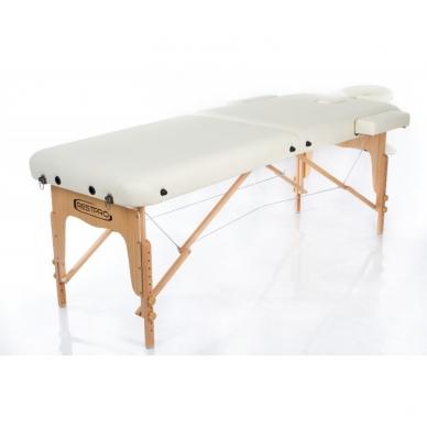 Sulankstomas masažo stalas Restpro Vip 2/Cream 2