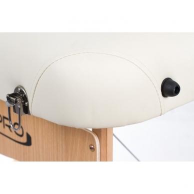 Sulankstomas masažo stalas Vip 2 (Cream) 5