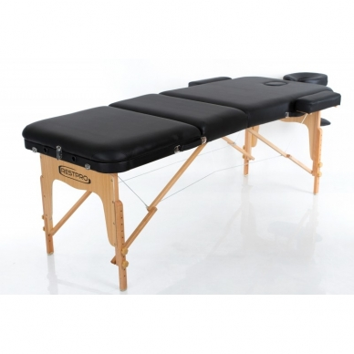 Sulankstomas masažo stalas Vip 3 (Black) 2
