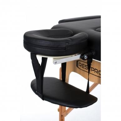 Sulankstomas masažo stalas Vip 3 (Black) 3