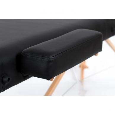 Sulankstomas masažo stalas Vip 3 (Black) 4