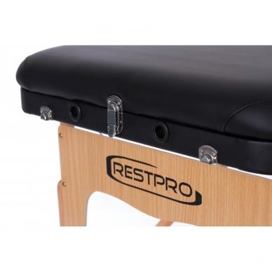 Sulankstomas masažo stalas Vip 3 (Black) 6