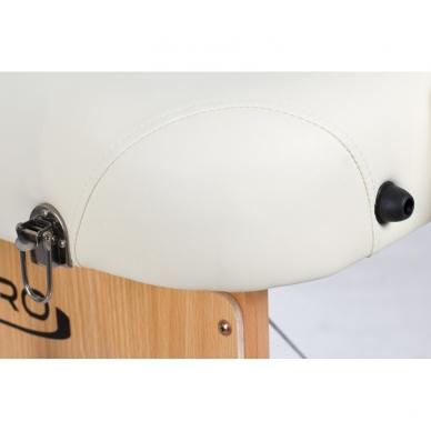 Sulankstomas masažo stalas Vip 3 (Cream) 7