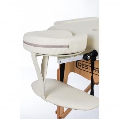 Sulankstomas masažo stalas Restpro Vip 3/Cream 3