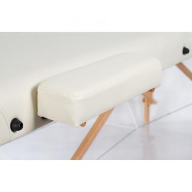 Sulankstomas masažo stalas Vip 3 (Cream) 4