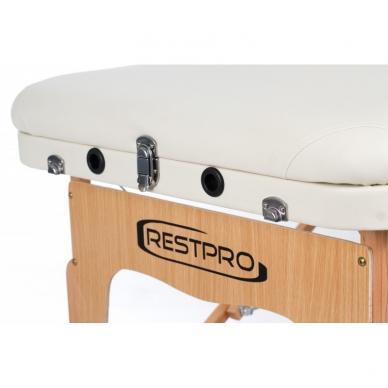 Sulankstomas masažo stalas Restpro Vip 3/Cream 5