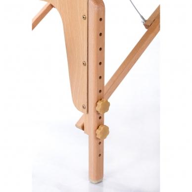Sulankstomas masažo stalas Restpro Vip Oval 2/Cream 8