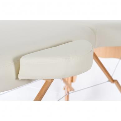 Kokkupandav massaažilaud Vip Oval 2 (Cream) 6