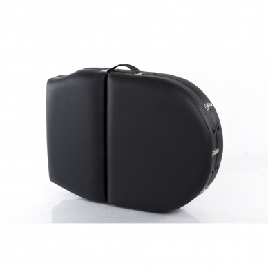 Sulankstomas masažo stalas Restpro Vip Oval 3/Black 12