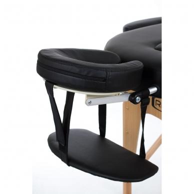 Sulankstomas masažo stalas Restpro Vip Oval 3/Black 4