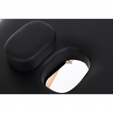 Sulankstomas masažo stalas Restpro Vip Oval 3/Black 5