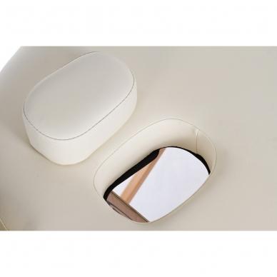 Sulankstomas masažo stalas Restpro Vip Oval 3/Cream 5