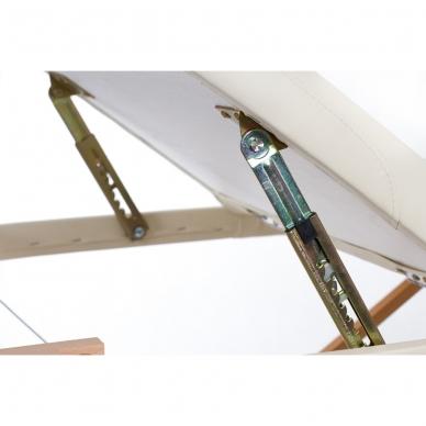 Sulankstomas masažo stalas Restpro Vip Oval 3/Cream 6