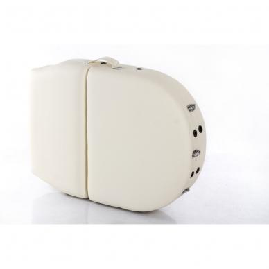 Sulankstomas masažo stalas Vip Oval 3 (Cream) 12