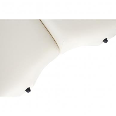 Kokkupandav massaažilaud Vip Oval 3 (Cream) 9