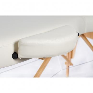 Kokkupandav massaažilaud Vip Oval 3 (Cream) 8