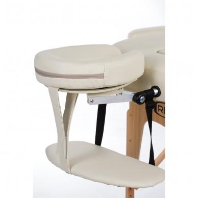 Sulankstomas masažo stalas Restpro Vip Oval 3/Cream 4