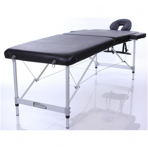 Sulankstomas masažo stalas Restpro Alu L2/Black
