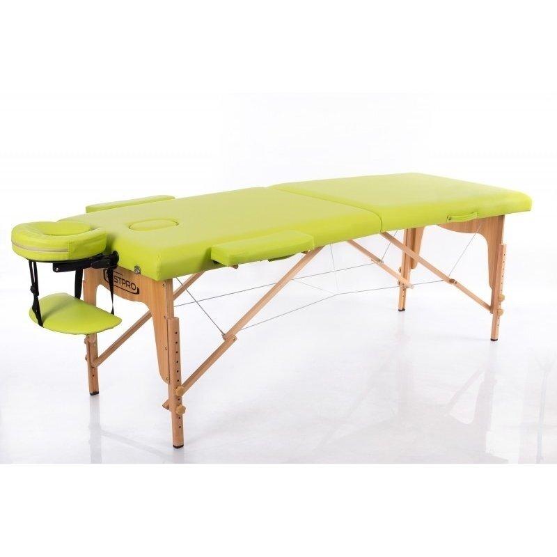 Sulankstomas masažo stalas Classic 2 (Olive)