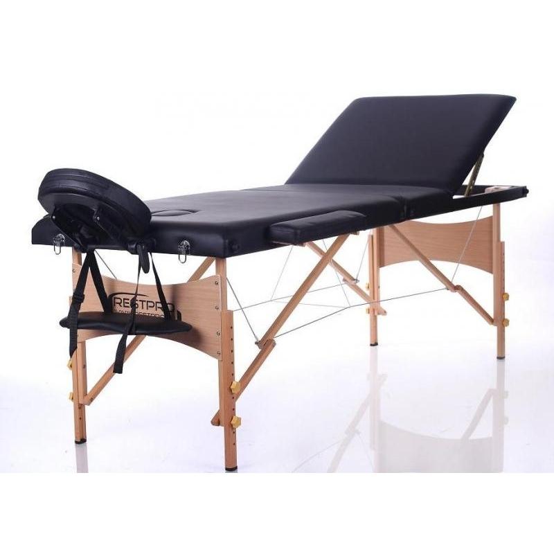 Sulankstomas masažo stalas Classic 3 (Black)