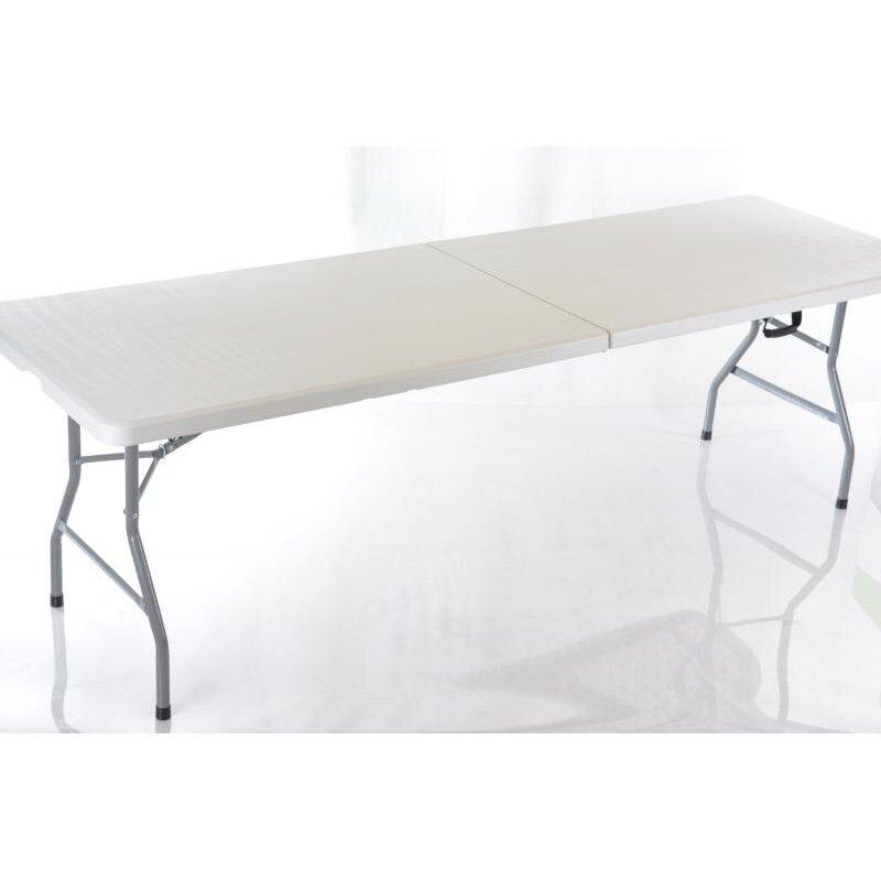 Sulankstomas stalas 244X75cm PICNIC WHITE