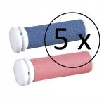 Šveitimo galvutės pėdų šveitikliui Silk'n MicroPedi (5 komplektai x 2 vnt.)