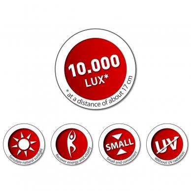 Šviesos terapijos lempa Impulsion DAY LIGHT 10.000 Lux  2