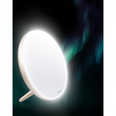 Šviesos terapijos lempa Lanaform Lumino LED champagne 6
