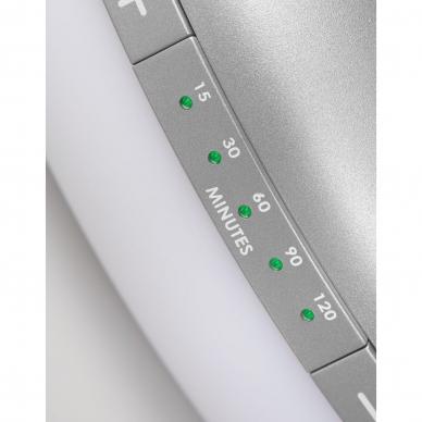 Šviesos terapijos lempa Lanaform Lumino LED Silver 10.000 Lux 5
