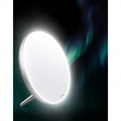Šviesos terapijos lempa Lanaform Lumino LED Silver 10.000 Lux 6