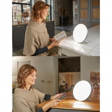 Šviesos terapijos lempa Lanaform Lumino LED Silver 10.000 Lux 7