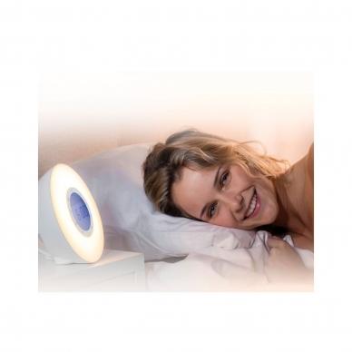 Šviesos terapijos žadintuvas Lanaform Wake Up Light 4