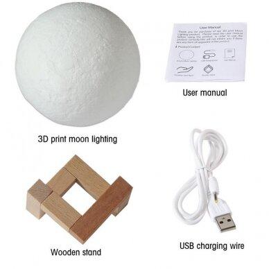 Lampa uz koka statīva ROMANTIC MOON 5