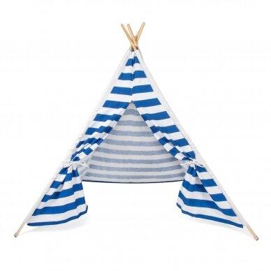 Tipi stila telts ar sloksnēm 2