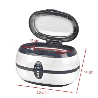 Ultragarsinė vonelė instrumentams 600ml, 35W 2