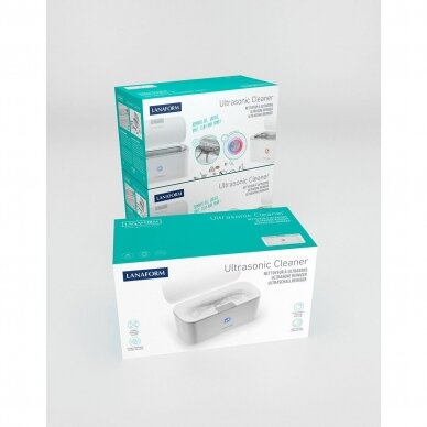 Ultragarsinė vonelė Lanaform Ultrasonic Cleaner 400ml, 30W 10