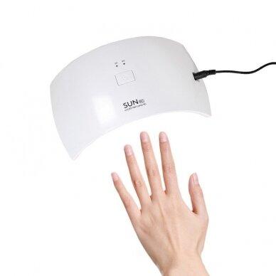 UV/LED nagų lempa 24W (M) 2