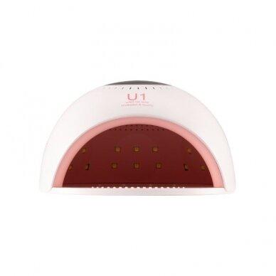 UV/LED nagų lempa 84W PINK WHITE 3