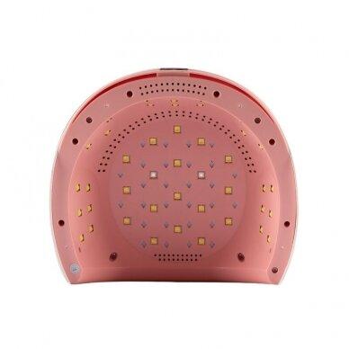 UV/LED nagų lempa 84W PINK WHITE 4