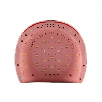 UV/LED manikīra lampa 84W PINK WHITE 4